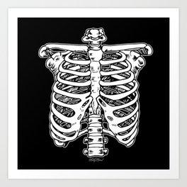 Funnybones Art Print