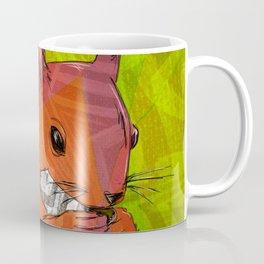Squirrel Print Coffee Mug