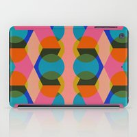 60s iPad Cases featuring Geometric 60s by Lilly Marfy