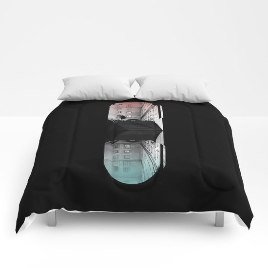 traveling pill Comforters