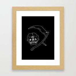 death watch Framed Art Print