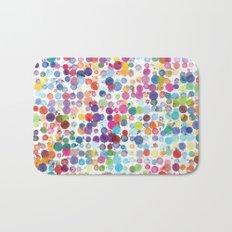Watercolor Drops Bath Mat