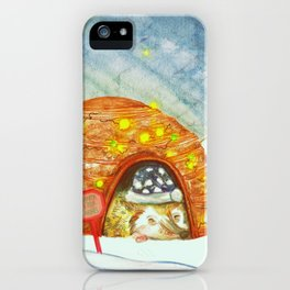 Santa Stop Here iPhone Case