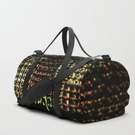 Abstract technology data digital information graph 3d illustration background Duffle Bag