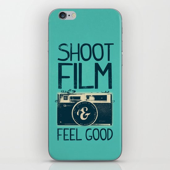 Shoot Film iPhone & iPod Skin