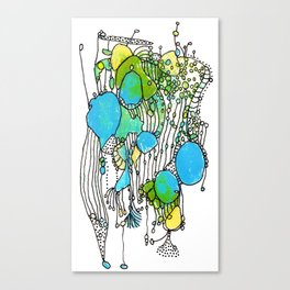 Flurry Canvas Print