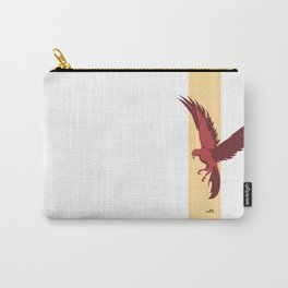Red Falcon Carry-All Pouch