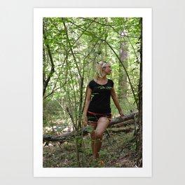 sotto bosco Art Print