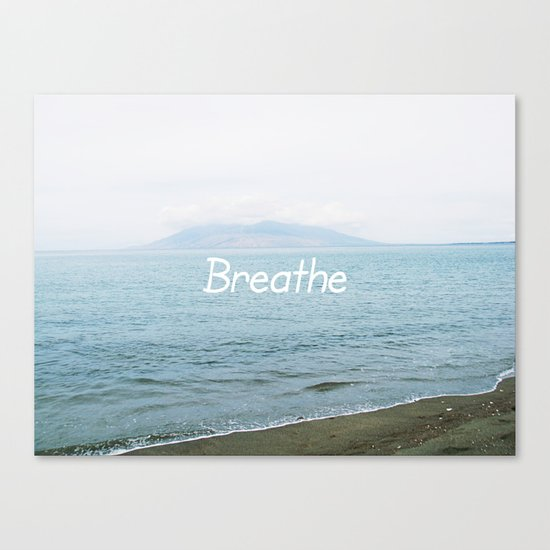 Take a moment and ... Canvas Print