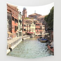 venice Wall Tapestries featuring Venice by Rachael Snow