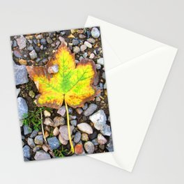 Fallen leaf 2 Stationery Cards