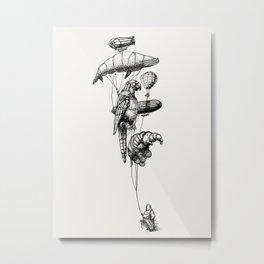 The Helium Menagerie Metal Print