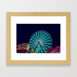Big Wheel Framed Art Print