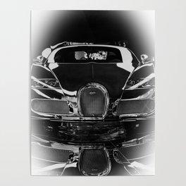 BUGATTI-VEYRON-CHROME Poster