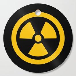 Yellow Radioactive Cutting Board
