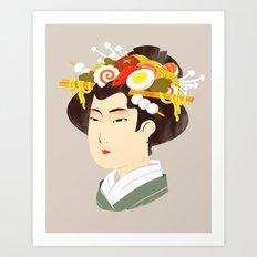 Japanese Delicacy Art Print