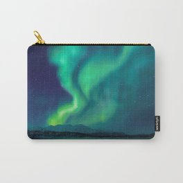 Aurora Borealis Lights Up the Sky (Northern Lights) Carry-All Pouch