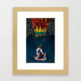 The Axiom Effect Compressed Framed Art Print