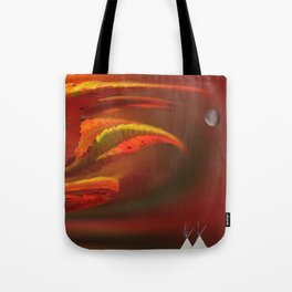 Sumac Moon Tote Bag