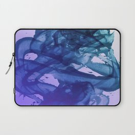 Blue Violet Bends Laptop Sleeve