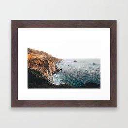 Big Sur, California // Framed Art Print