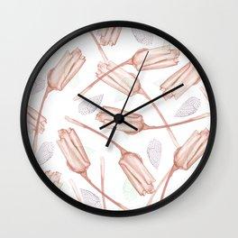Flower carpet 20 Wall Clock