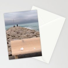 the storm moves away (Sitges) Stationery Cards