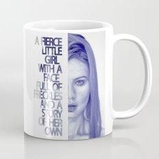 Fierce little girl Coffee Mug