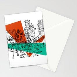 Adjacent Fourmula Stationery Cards