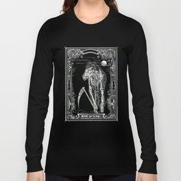 DEATH of Tarot Cat Long Sleeve T-shirt