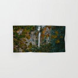 Multnomah Falls Autumn Hand & Bath Towel