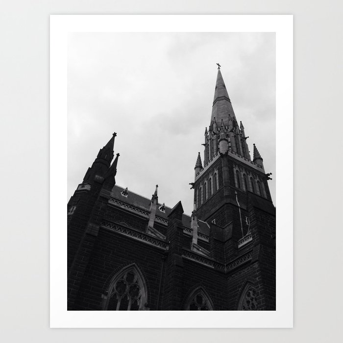 St Patrick's Art Print