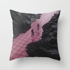 It's YOU against yourself Throw Pillow