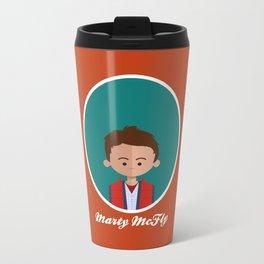Marty McFly Metal Travel Mug