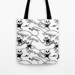 surferSkeleton Tote Bag