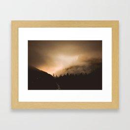 Breaking Dawn Framed Art Print