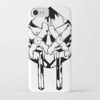 mf doom iPhone & iPod Cases featuring Bandit Doom by ScientisTechni