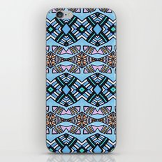 Creole Woman in Mint iPhone & iPod Skin