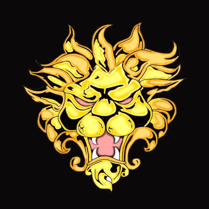 Golden Lion Duvet Cover
