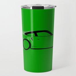 Fast Green Car Travel Mug