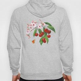 Cherries on Vintage  Hoody