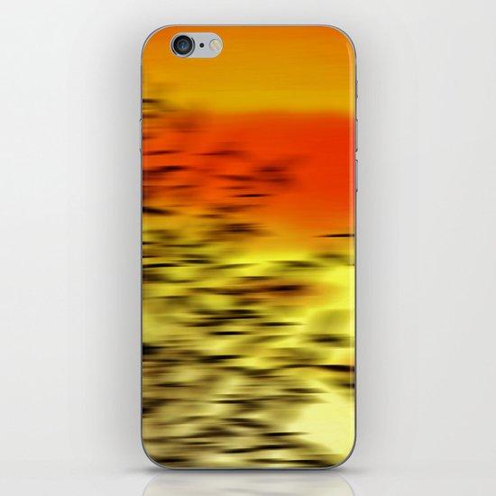 Warm whisper iPhone & iPod Skin