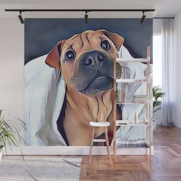Boxer Puppy Wall Mural