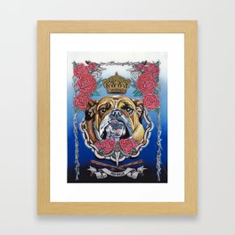 The Bully Framed Art Print