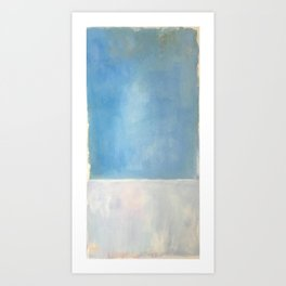 Mark Rothko Interpretation Untitled 1969 Art Print