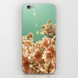 Concentrated color flower iPhone Skin