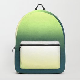 green , yellow , white , Ombre Backpack