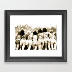Life as We Know it Framed Art Print