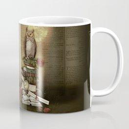 The Bibliophile - (the lover of books) Coffee Mug