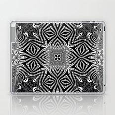 Black & White Tribal Symmetry Laptop & iPad Skin